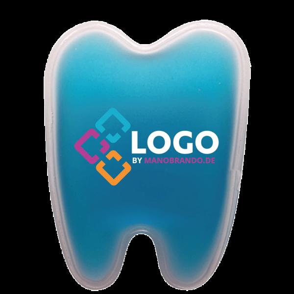 kühlkissen Zahnform bedrucken