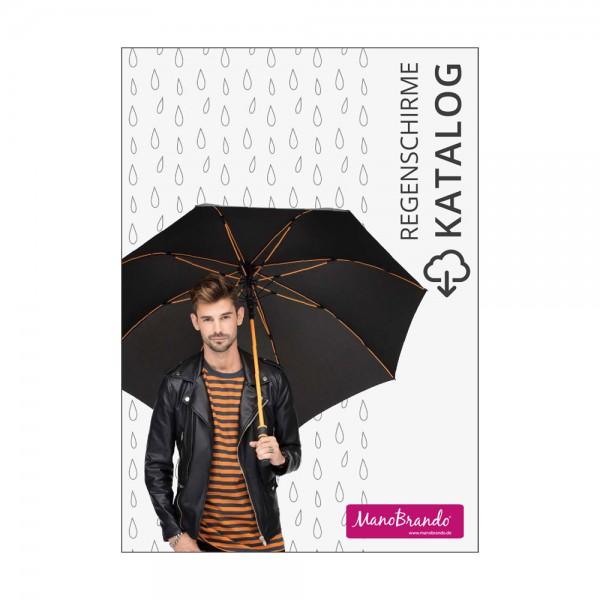 Regenschirme bedrucken Katalog ManoBrando
