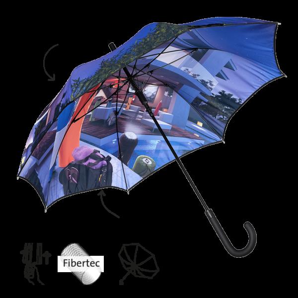 Regenschirm mit eigenem Motiv bedrucken