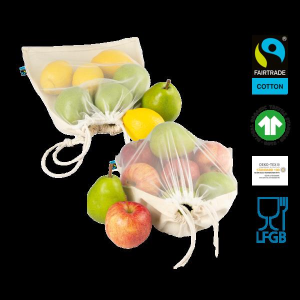 Bio Obst- und Gemüsebeutel Werbeartikel
