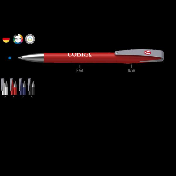 Klio Ettern Kugelschreiber Cobra matt MMs | Werbekugelschreiber