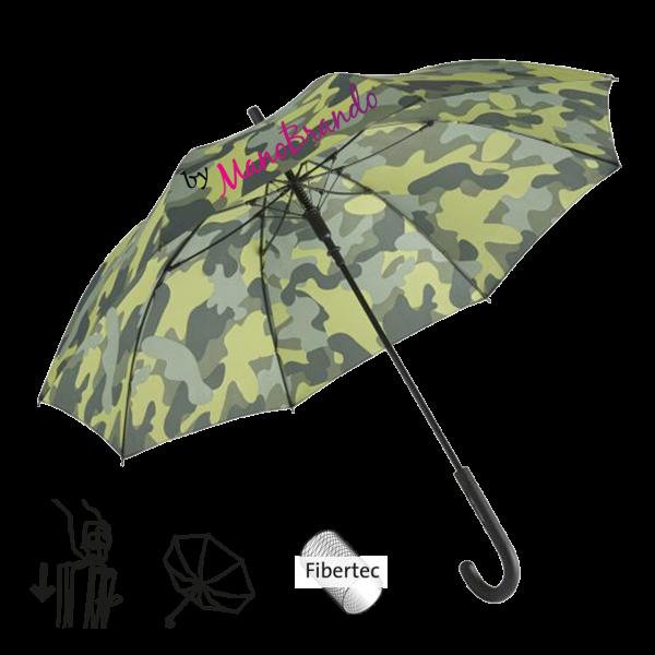Stockschirm Camouflage Werbeartikel