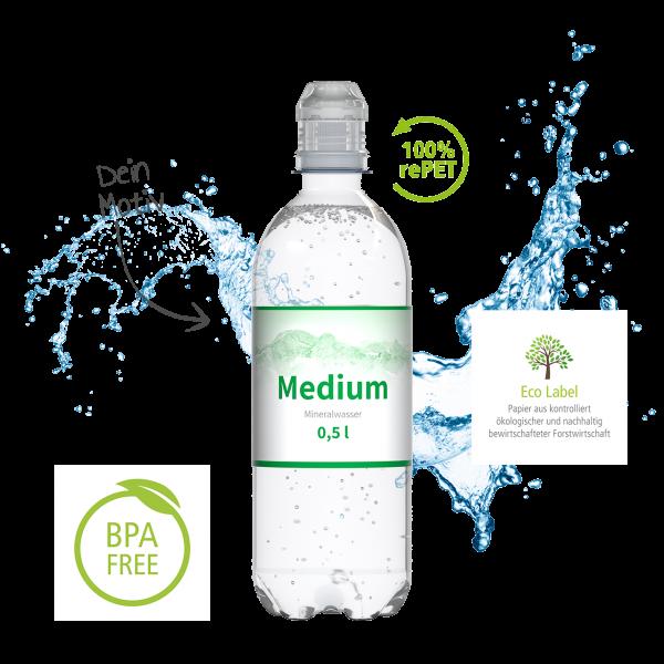 Mineralwasser SportCap - Werbeartikel Wasser