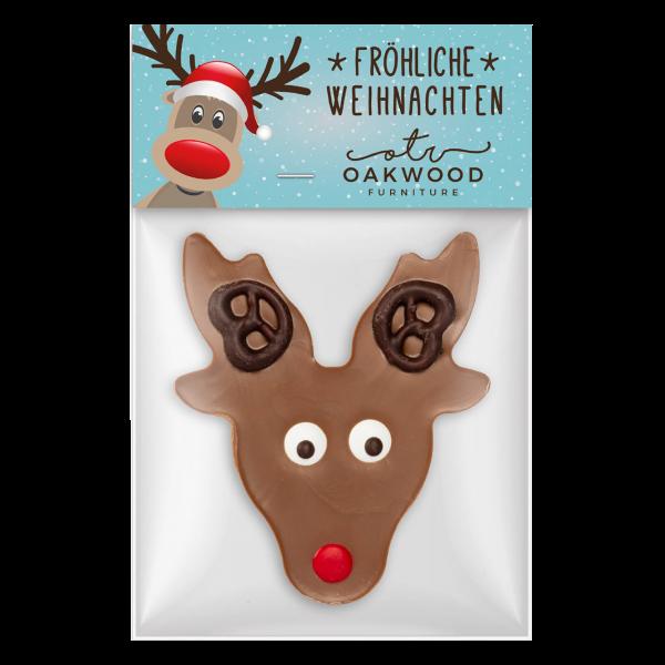"""Werbeartikel Schokoladen """"Rudolph"""""""
