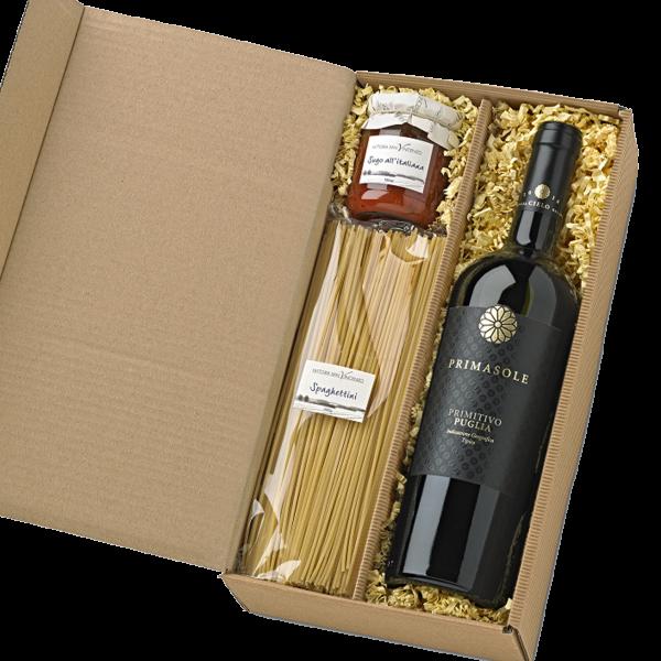 Italienischer Geschenkkorb ALLEGRIA Präsente-Set
