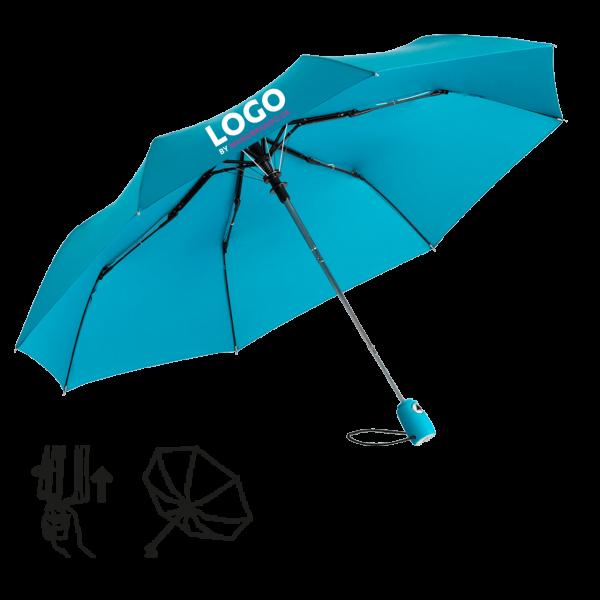AC Mini-Taschenschirm Fare-AC mit Logo