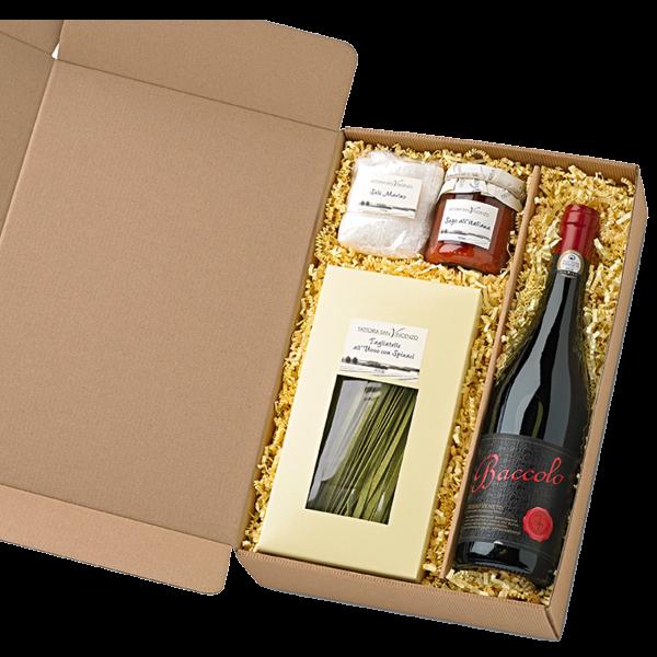 Italienischer Geschenkkorb Elegante - Präsente Set