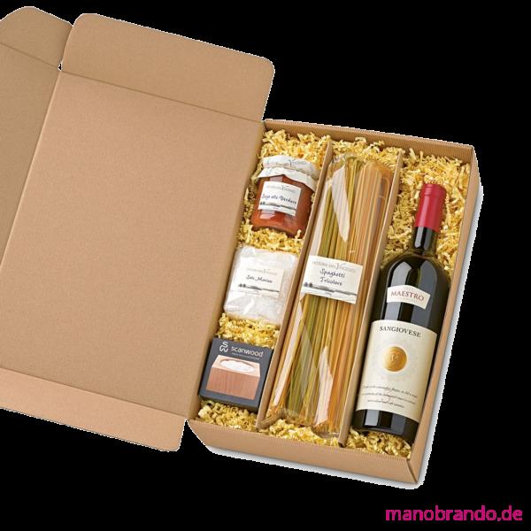 Italienischer Geschenkkorb Al Dente - Lebensmittel Präsente-Set