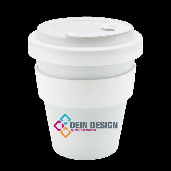 Coffee to go Becher Porzellan bedrucken