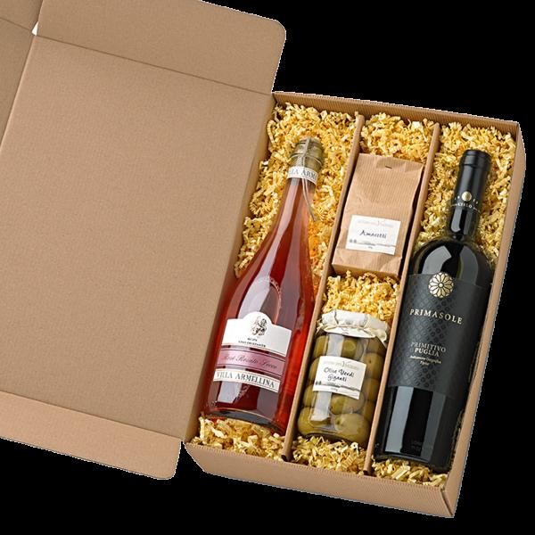 Italienischer Geschenkkorb Due Sere - Präsente Set